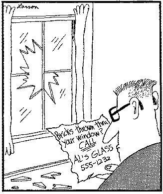 Prozor i cigla
