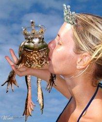 Žabac se pretvara u princa