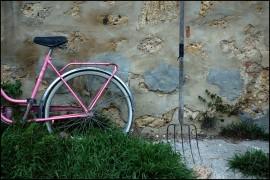 Roze bicikl