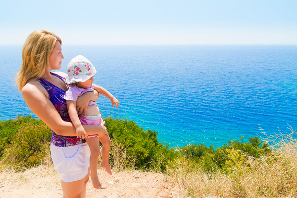 Milica, Sunčica i Egejsko more