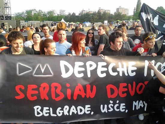 Serbian devoted fans, Usce 19. maj 2013