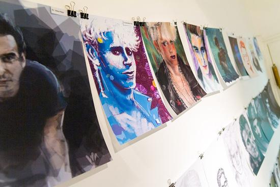 Martin Gore fan art, Noc muzeja