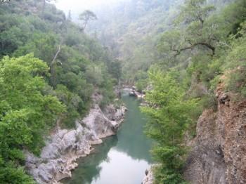 Reka Alara, Turska
