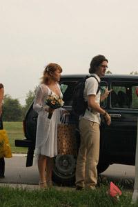 Dolazak na sopstveno venčanje limuzinom Ladom Nivom
