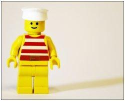 Nekadašnji Lego čovečuljak