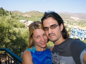 Nas dvoje na terasi